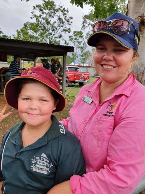 Pittsworth's Bec Skene tied with Fraser Coast Show's Melinda Wright the Emerging Leader of the year.